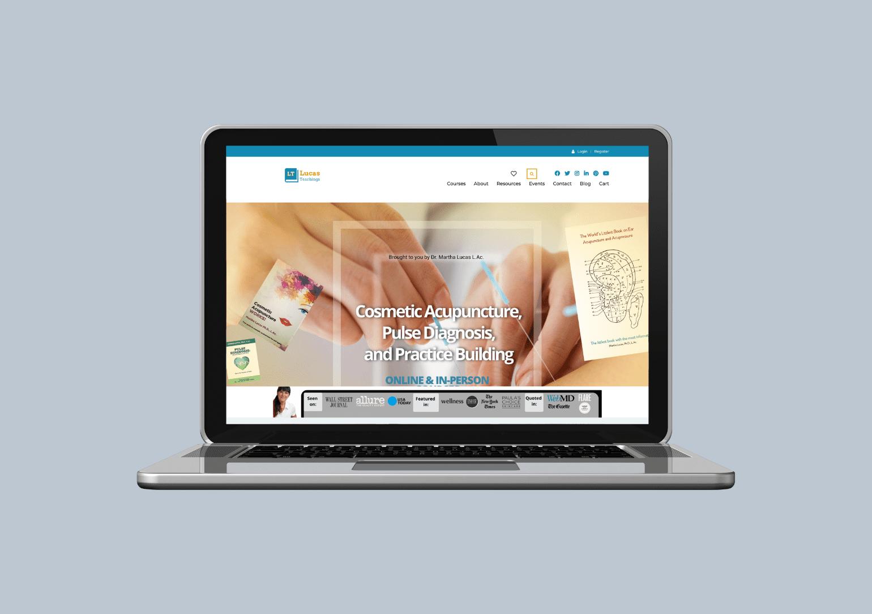 Custom Web Designer for online courses wordpress