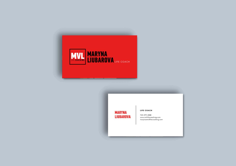 Life Coach custom business cards