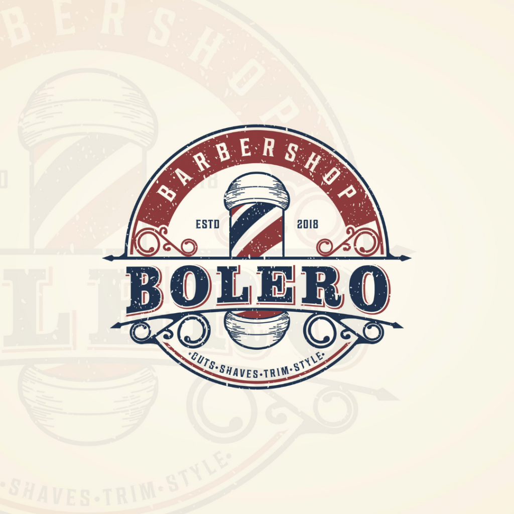 Example of a vintage logo design