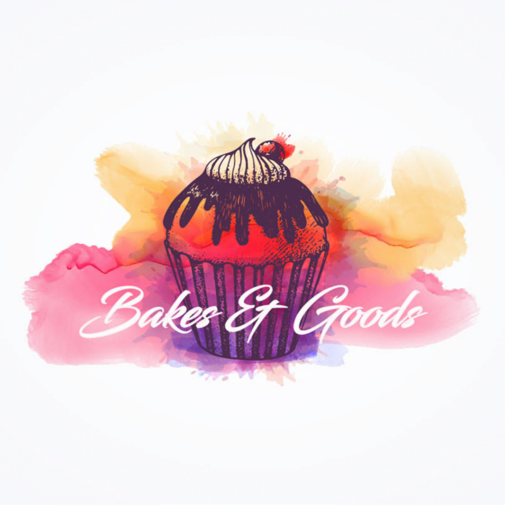 Example of a watercolor logo design