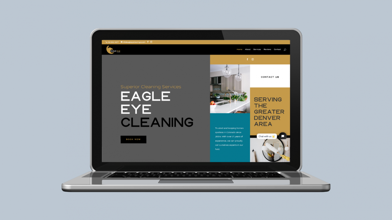 Custom Web Designer for denver cleaning company