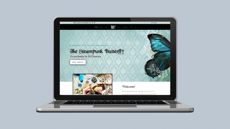 E-Commerce jewelry custom website